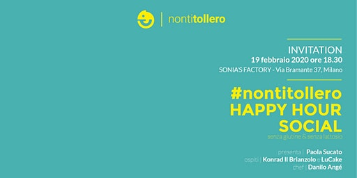 #nontitollero Happy Hour social