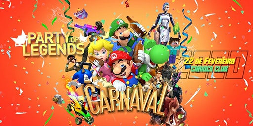 Experiência Claro Gaming - Party of Legends - Carnaval