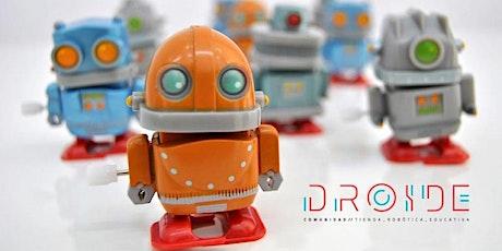Taller gratuito de robótica para familias entradas