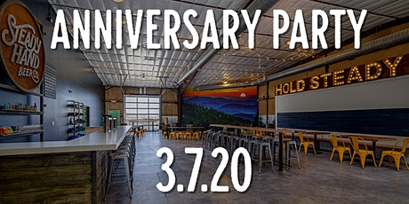 Steady Hand First Anniversary Party tickets