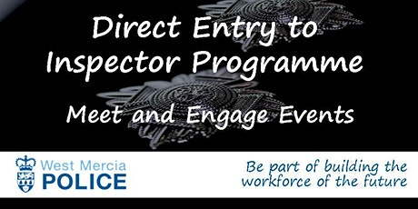 Direct Entry to Inspector Programme - Meet and Engage Event tickets