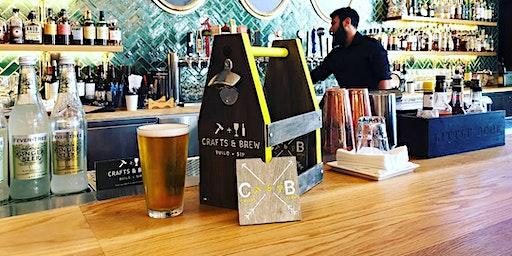 Crafts & Brew: Build + Sip at San Pedro Square Market & Bar