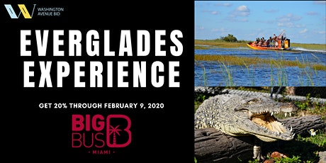TOUR THE EVERGLADES! Book the #1 Tour in South Florida for the best price! tickets