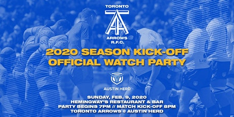 Toronto Arrows | Official 2020 Season Kick-Off Watch Party vs Austin Herd tickets