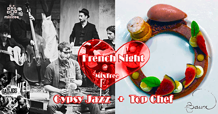 Live Gypsy Jazz & French Cuisine at MixTree tickets