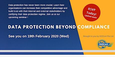 DPTM Seminar - Data Protection Beyond Compliance tickets