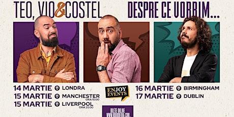 Dublin @ Despre ce vorbim... tickets