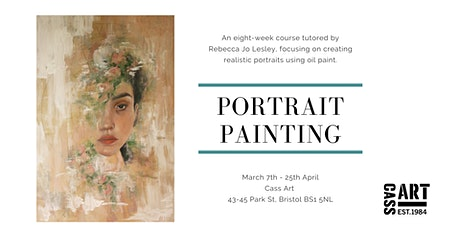 Creating Realist Portraits- Oil Painting Eight-Week Course tickets