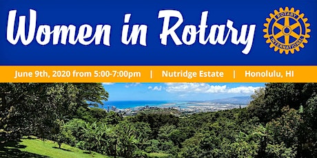 2020 Women in Rotary Event tickets