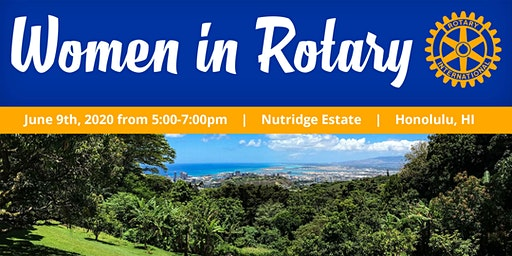 2020 Women in Rotary Event
