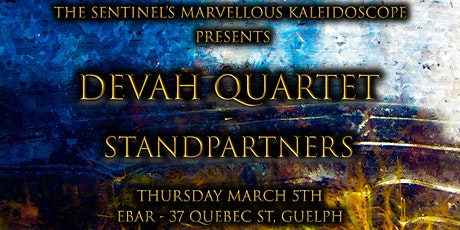 Dévah Quartet - standpartners at The eBar tickets