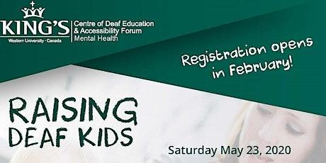 Raising Deaf Kids tickets