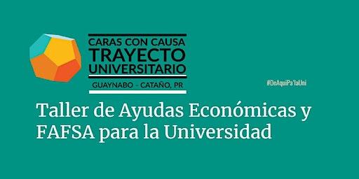 Taller de ayudas economicas y FAFSA para la universidad