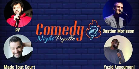 Comedy Night Pigalle #13 billets