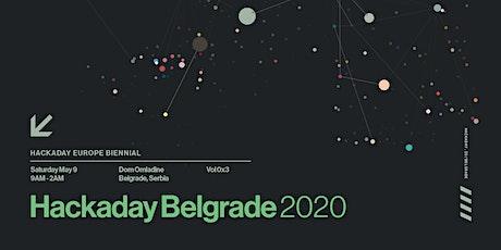 Hackaday | Belgrade 2020 tickets