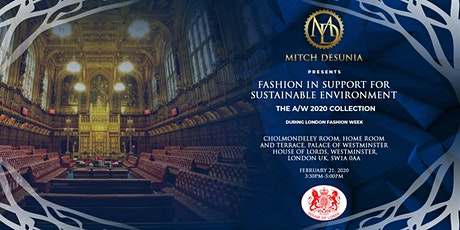 Copy of MITCH DESUNIA AW/2020  fashion show during LONDON FASHION WEEK tickets