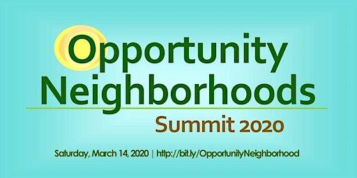 Opportunity Neighborhoods Summit 2020