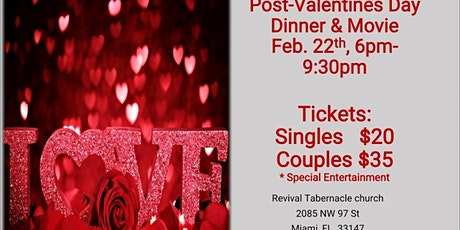 Couples and Singles Together (CAST) Ministry Post Valentine's Day Special billets