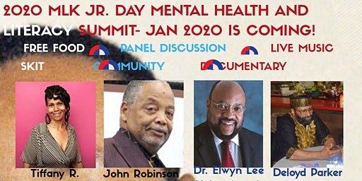 POSTPONED UNTIL SUMMER - 2020 MLK JR MENTAL HEALTH AND LITERACY SUMMIT