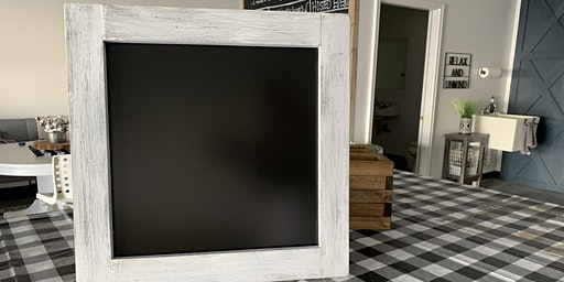 DIY Large Chalkboard using Kreg Jig
