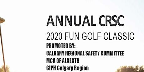 16th Annual CRSC Golf Classic tickets