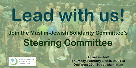 Join the Muslim-Jewish Solidarity Committee's Steering Committee! tickets