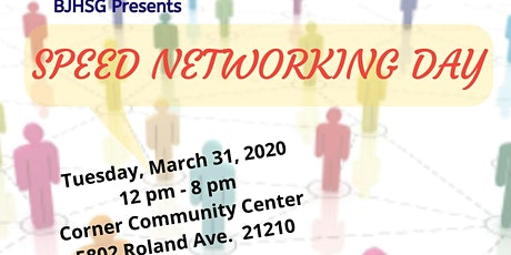 BJHSG Speed Networking Day - Networkers Registration(In Person/Virtual) tickets