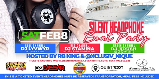 Silent Headphone Party - Riot At Sea