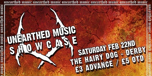 Unearthed Showcase Ft. Old Wharf, Suffer Uk, Skin of the Snake + More