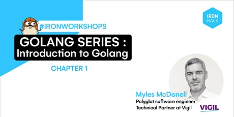 Golang Series - Introduction to Golang |CHAPTER 1 tickets
