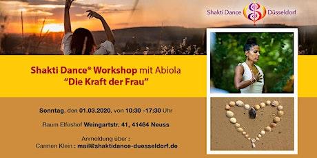 """Shakti Dance Workshop """"Die Kraft der Frau"""" Tickets"""