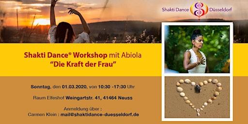 "Shakti Dance Workshop ""Die Kraft der Frau"""