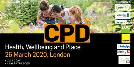 Health, Wellbeing and Place: How landscape delivers positive change tickets