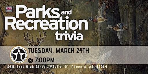 Parks & Rec Trivia at Growler USA Phoenix