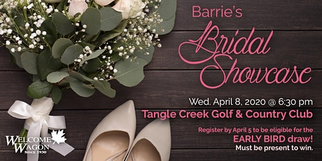 Barrie Bridal Showcase - Spring 2020 tickets