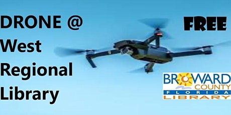 DRONE @ West Regional Library Creation Station tickets