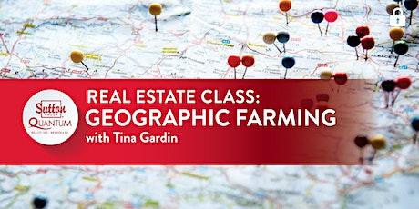 Class: Geographic Farming with Tina Gardin tickets