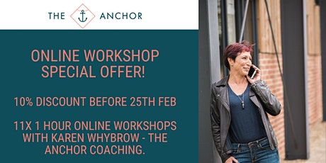 2020 Online Workshops Special Offer tickets