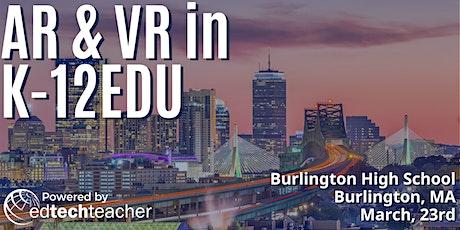 AR/VR (Burlington, MA)- March 23, 2020 tickets