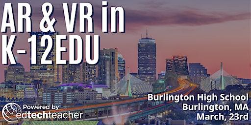 AR/VR (Burlington, MA)- March 23, 2020
