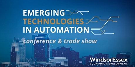 2020 Emerging Technologies in Automation Conference and Trade Show - Attendee tickets