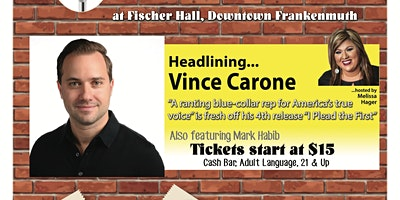 Comedy Show- Fischer Hall - Vince Carone