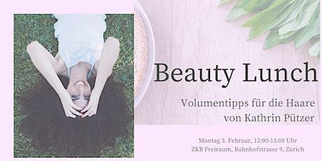 Beauty Lunch Zürich tickets