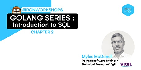 Golang Series - Introduction to SQL | CHAPTER 2 tickets