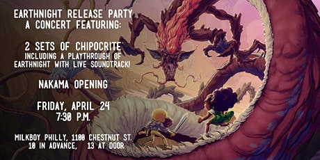 EarthNight (Video Game) Release Party tickets