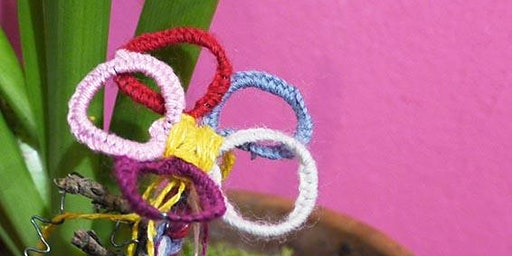 Make a Textile & Wire-work Flower