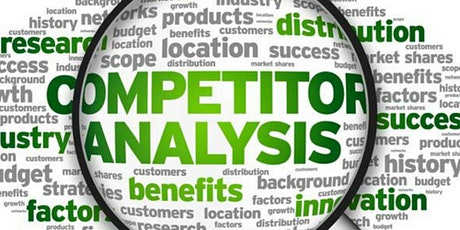 Competitor Analysis - Who, What, Where, When & Why tickets