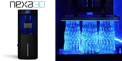 Nexa3D Live Demonstration - Ultra Fast 3D Printing (MA)
