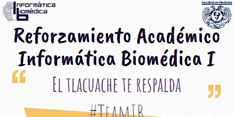 Reforzamiento Académico Informática Biomédica 1