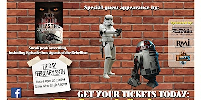 The Blood Crystal/Star Wars Story screening - Comedy Show